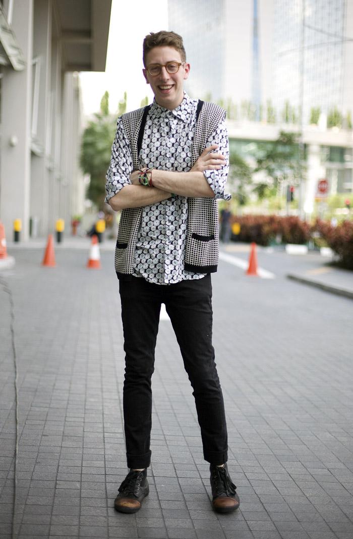 Alan Eckstein At Blueprint Singapore Street Fashion Street Peeper Global Street Fashion
