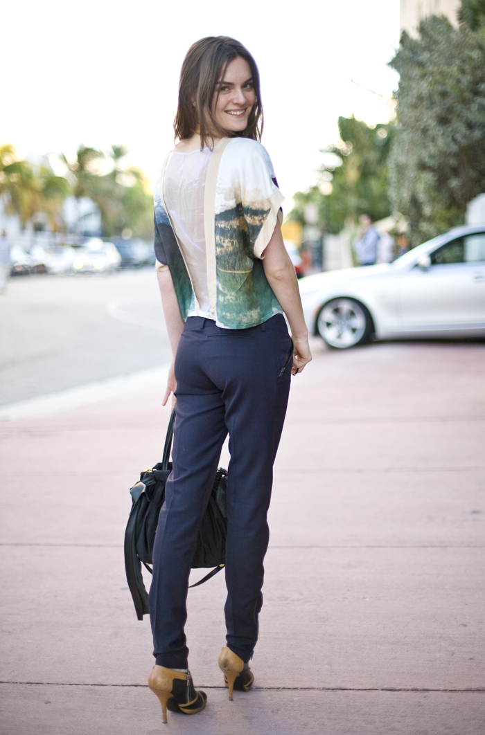 Anouck Lepere In Miami Street Fashion Street Peeper