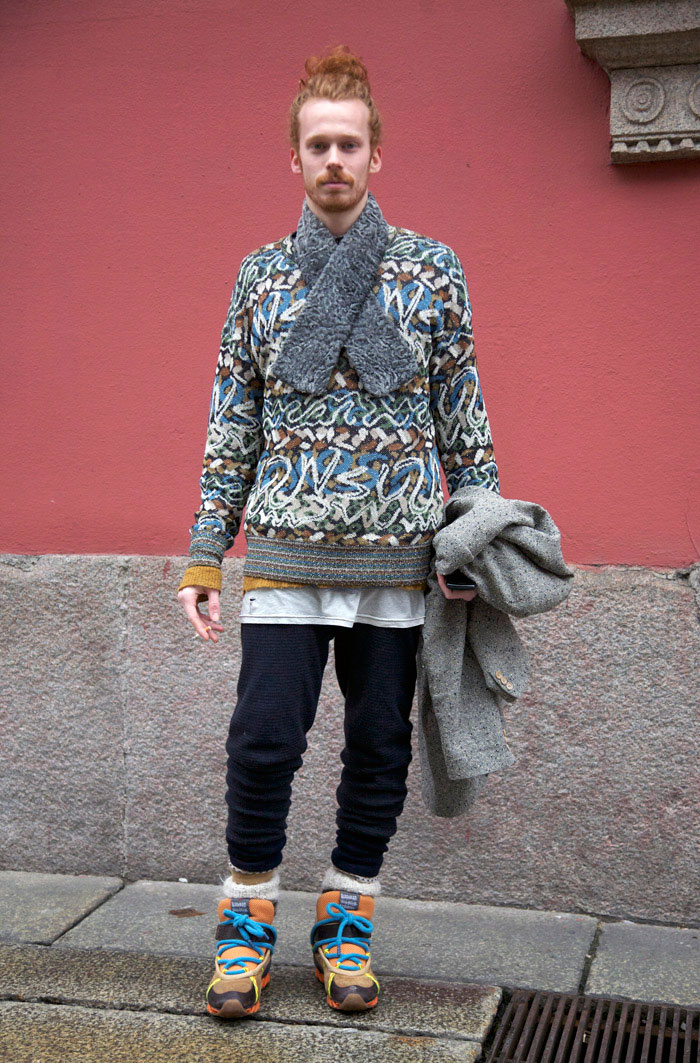 Bernhard willhelm for camper milan street fashion street peeper global street fashion and - Bernard wilhelm ...