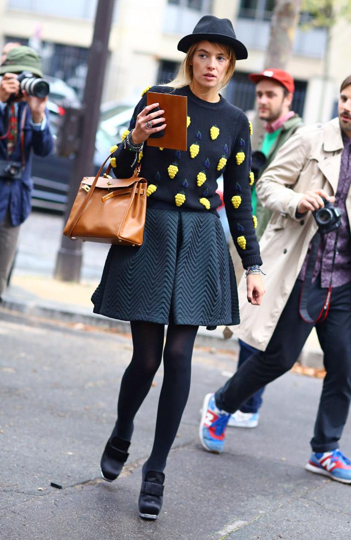 Carlotta In Fruit Street Fashion Street Peeper Global Street Fashion And Street Style