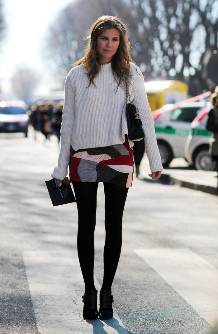 Homepage Fashion: Dasha Zhukova In Milan