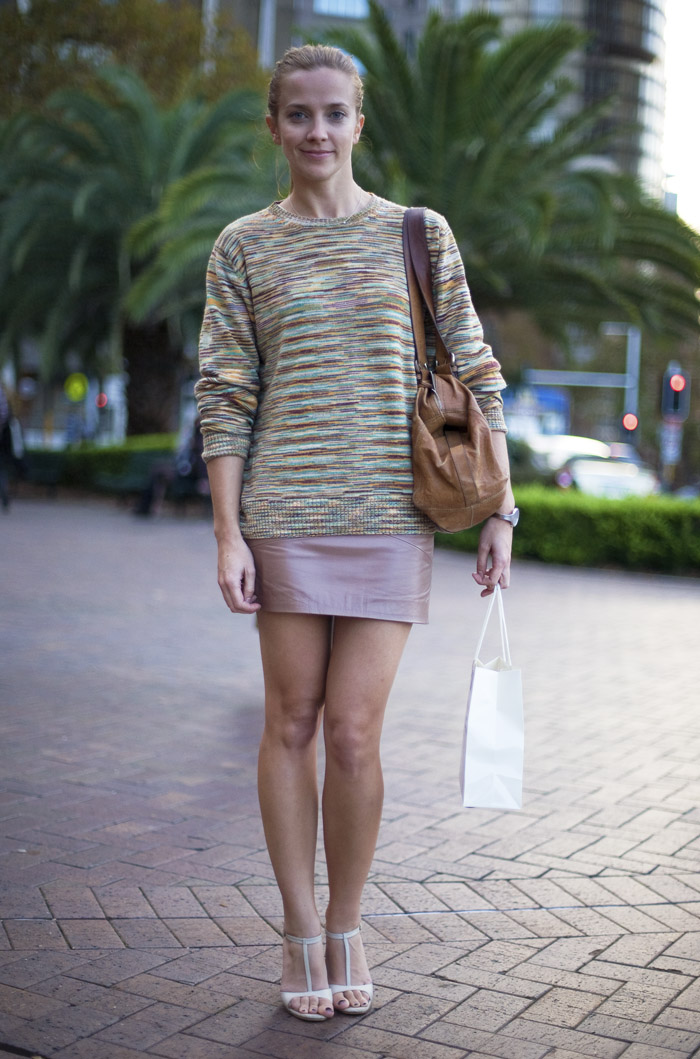 Kate Missoni Sweater Street Fashion Street Peeper