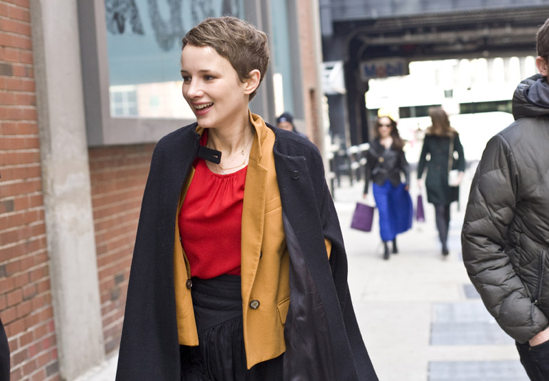 Spring fashion in london