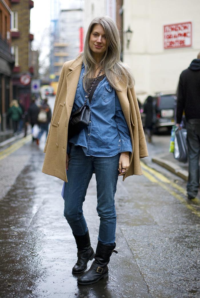 Sarah Harris British Vogue London Street Fashion