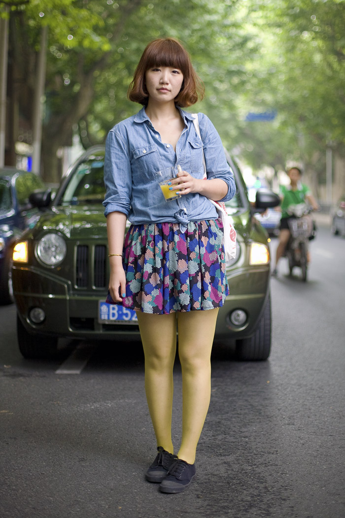 Shanghai Street Style I | Street Fashion | Street Peeper | Global ...