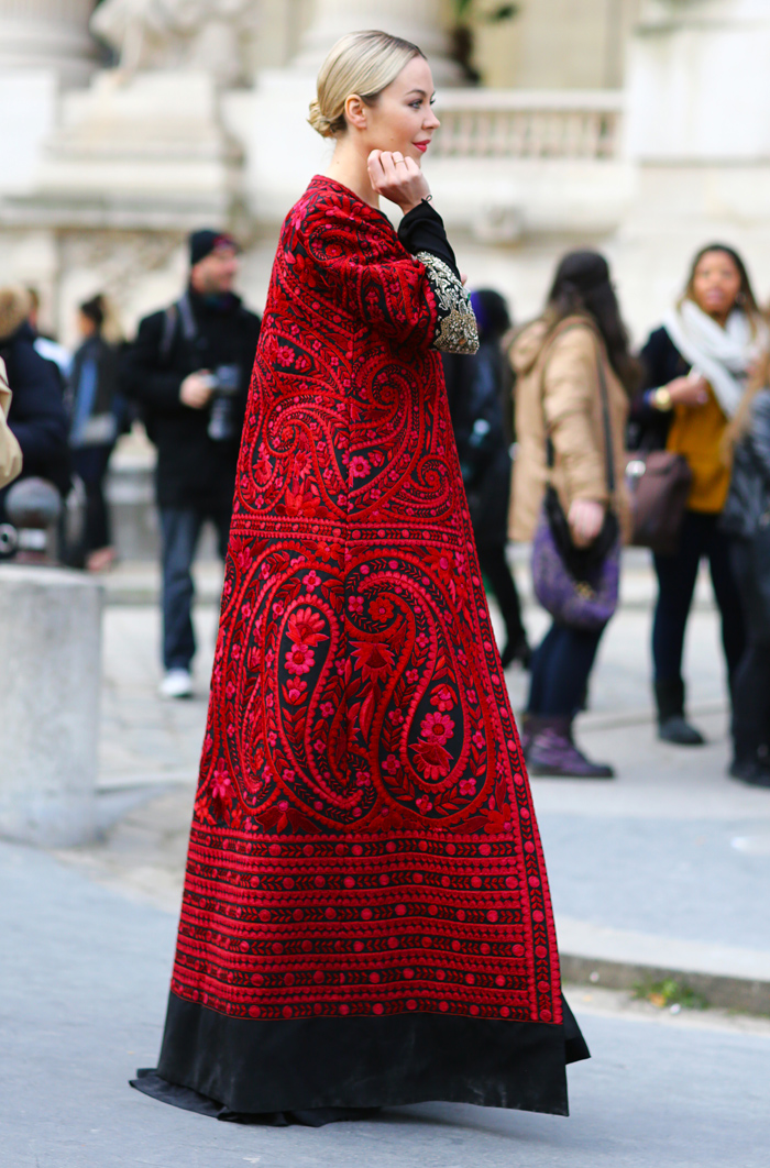 Ulyana Sergeenko Royal Robe Street Fashion Street Peeper Global Street Fashion And Street