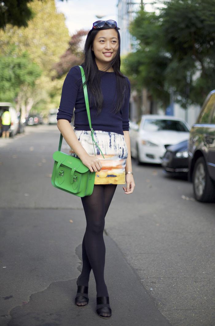 Zara Wong Sydney Street Fashion Street Peeper Global Street Fashion And Street Style